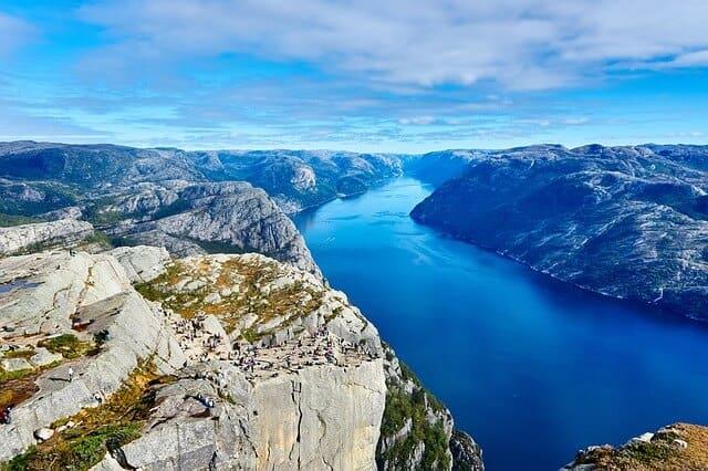 קיץ בנורווגיה