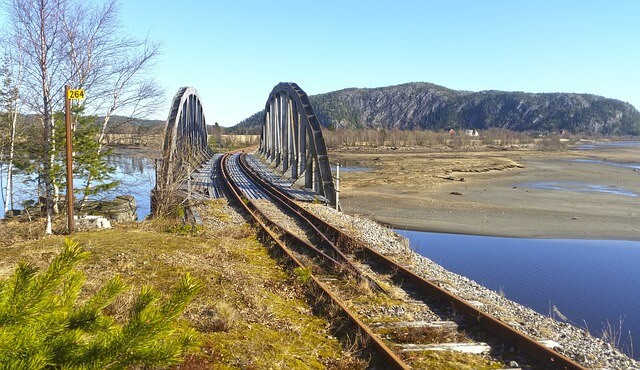טיול רכבות בנורווגיה