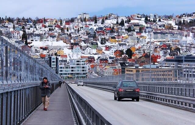 גשר טרומסו (Tromsø), נורווגיה