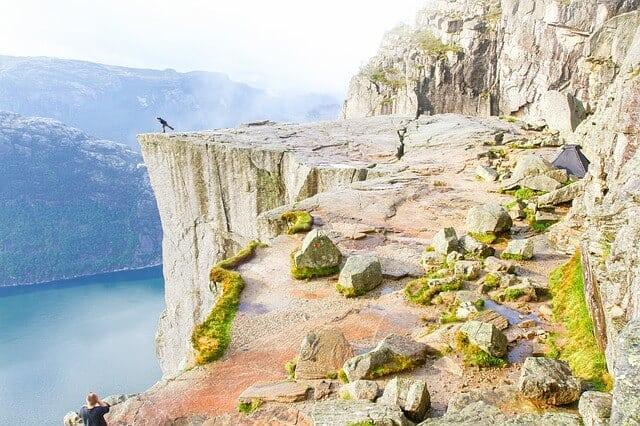 צוק כס המטיף נרווגיה